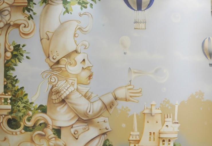 Оформление детской комнаты на Таганке.