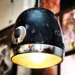 Светильник из фар